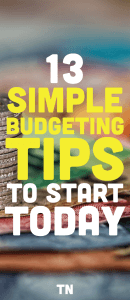 budgeting tips, how to start a budget