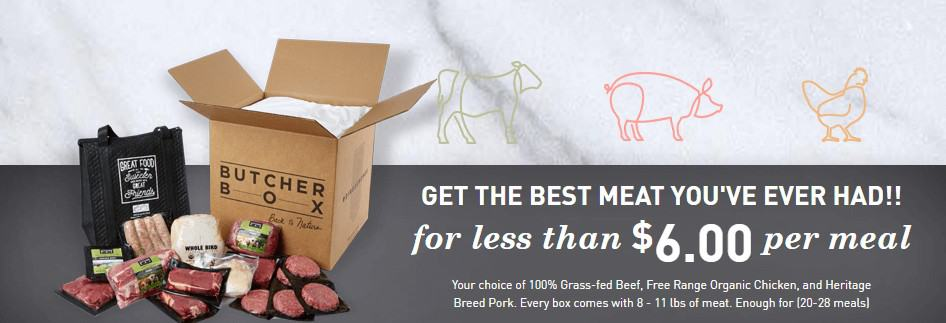 save money on groceries - how to save money on food with butcher box