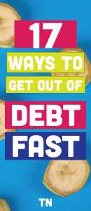 how to budget and get out of debt and save money