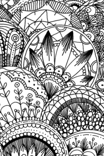 free coloring page mandalas