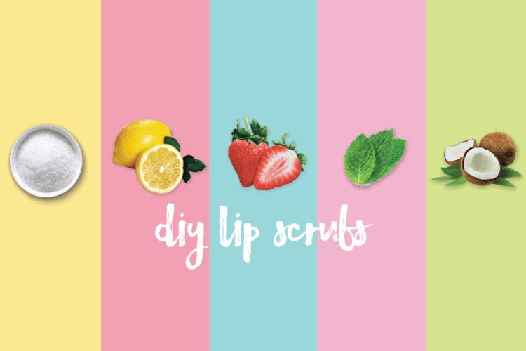 DIY Lip Scrub, Best DIY Homemade Lip Scrub