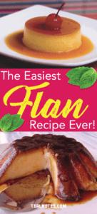 Easy flan recipe- best flan recipe