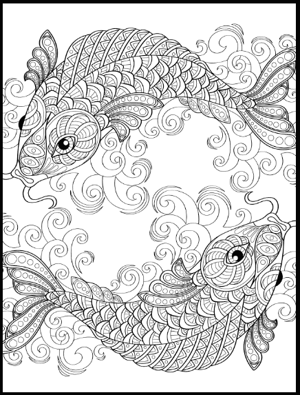 FREE Adult Coloring Pages: 35 Gorgeous Printable Coloring Pages To De-Stress