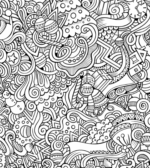 FREE Adult Coloring Pages That Are NOT Boring: 35 Printable Pages To  De-Stress