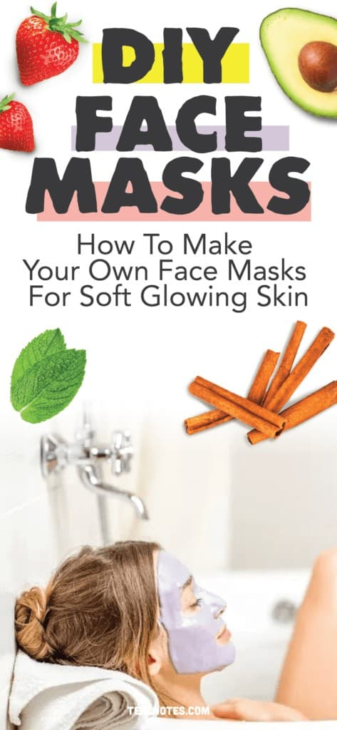 DIY Face Masks, How to make a diy face mask