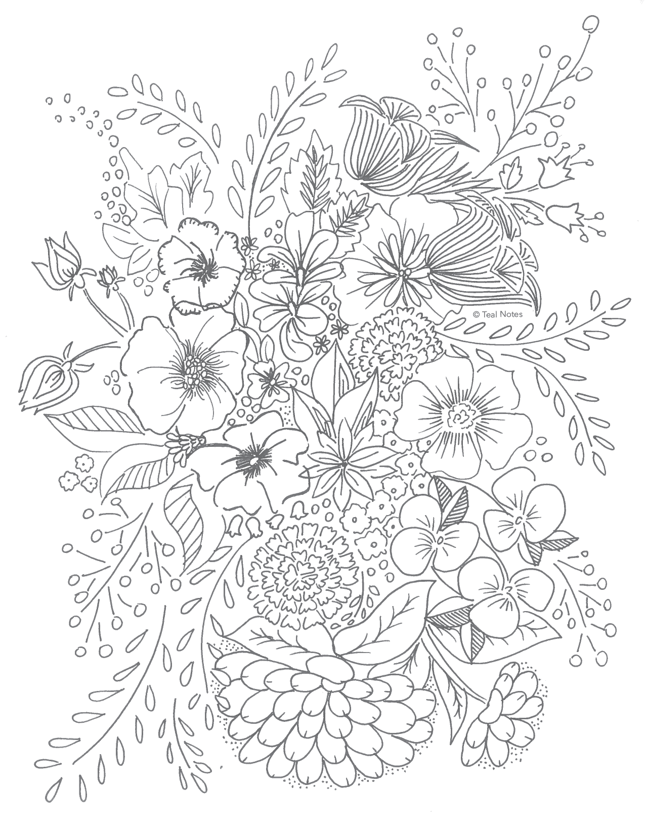 Free Printable Coloring Books For Adults