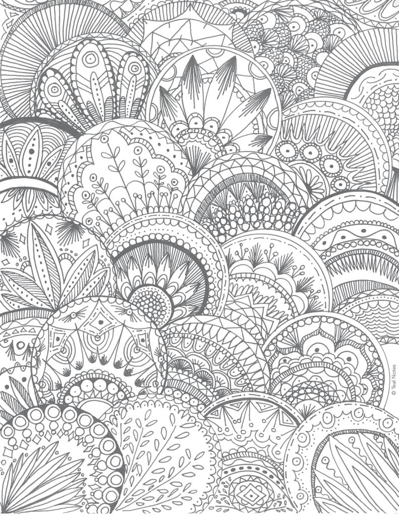 free mandala coloring page, free printable coloring pages
