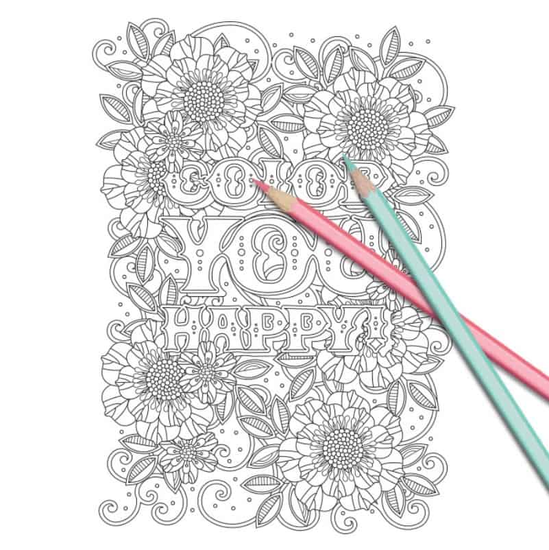 beautiful free coloring page