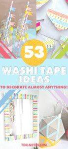 washi tape ideas