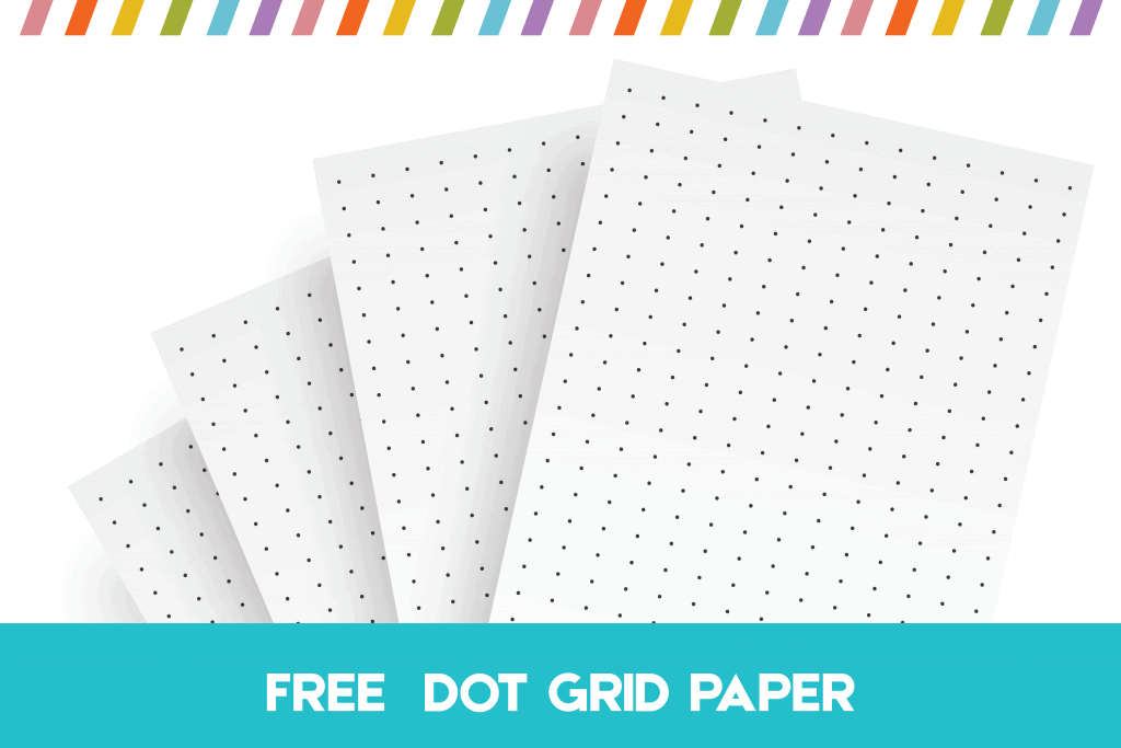 Handy image in bullet journal dot grid printable