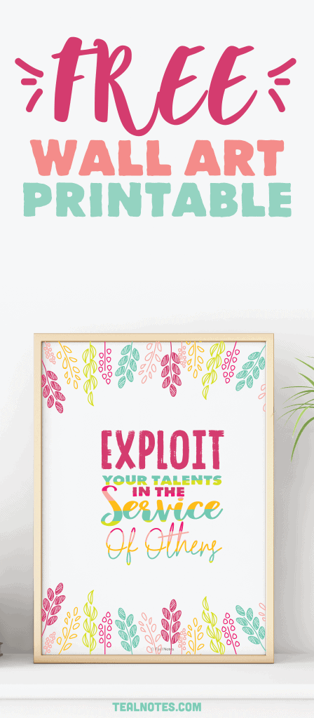 free wall art printable