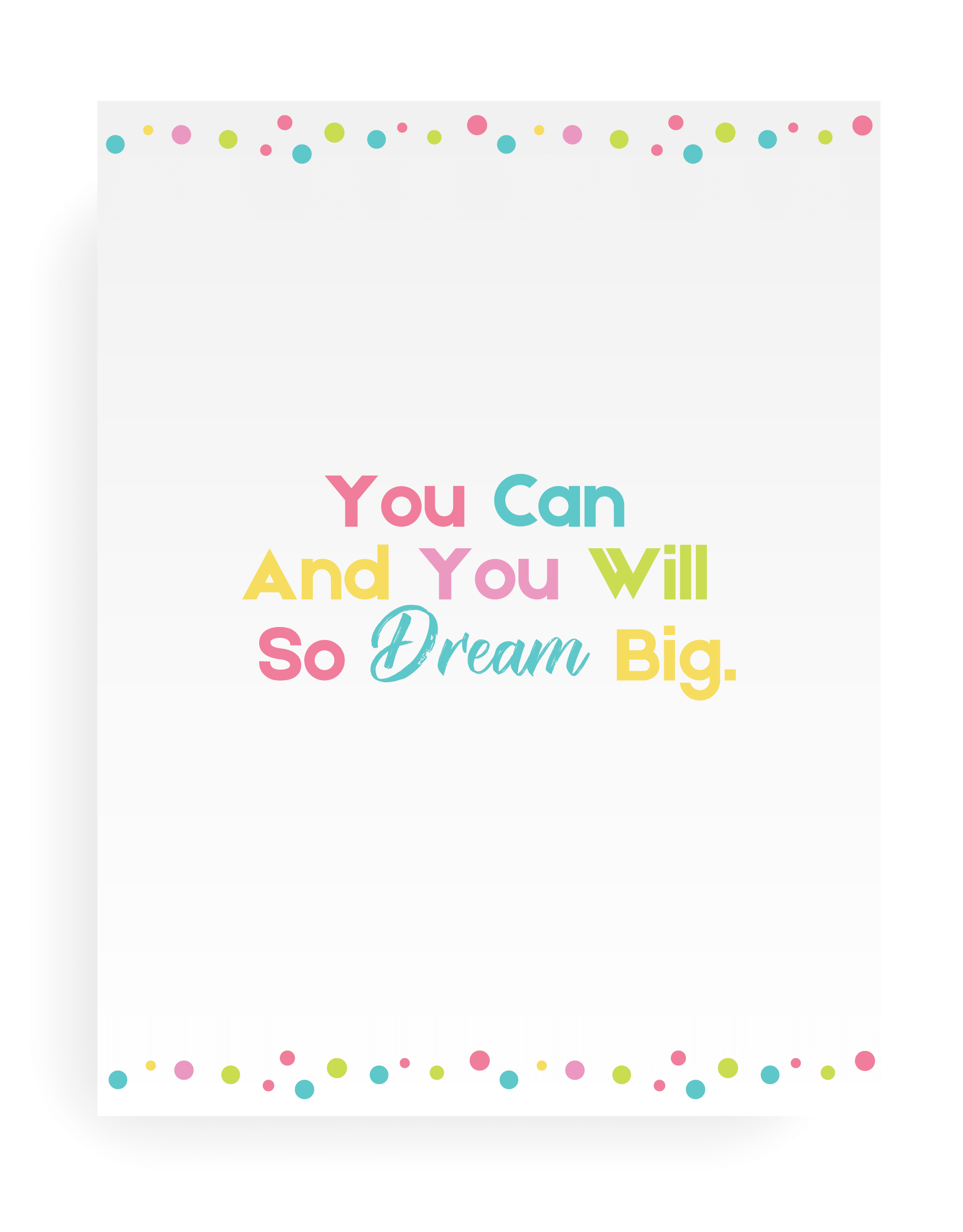 Quote printable wall art