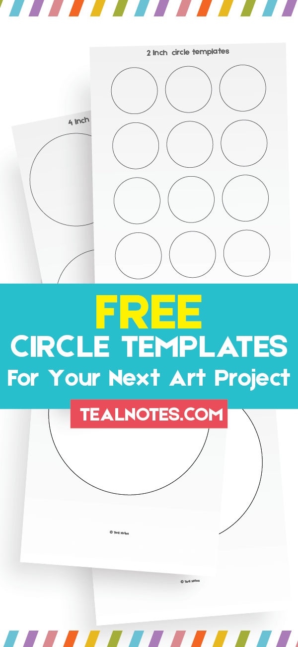 circle template, free circle template