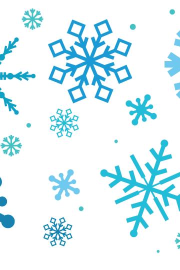 snowflake template, free snowflake template