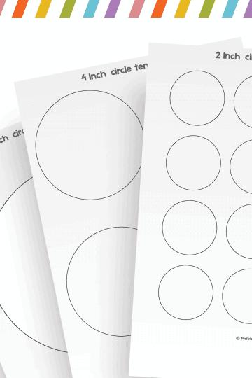 circle template