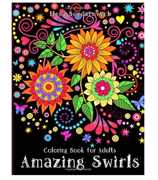best adult coloring books with swirls and patterns that are advanced