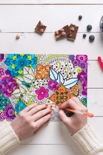 best adult coloring books for under $10