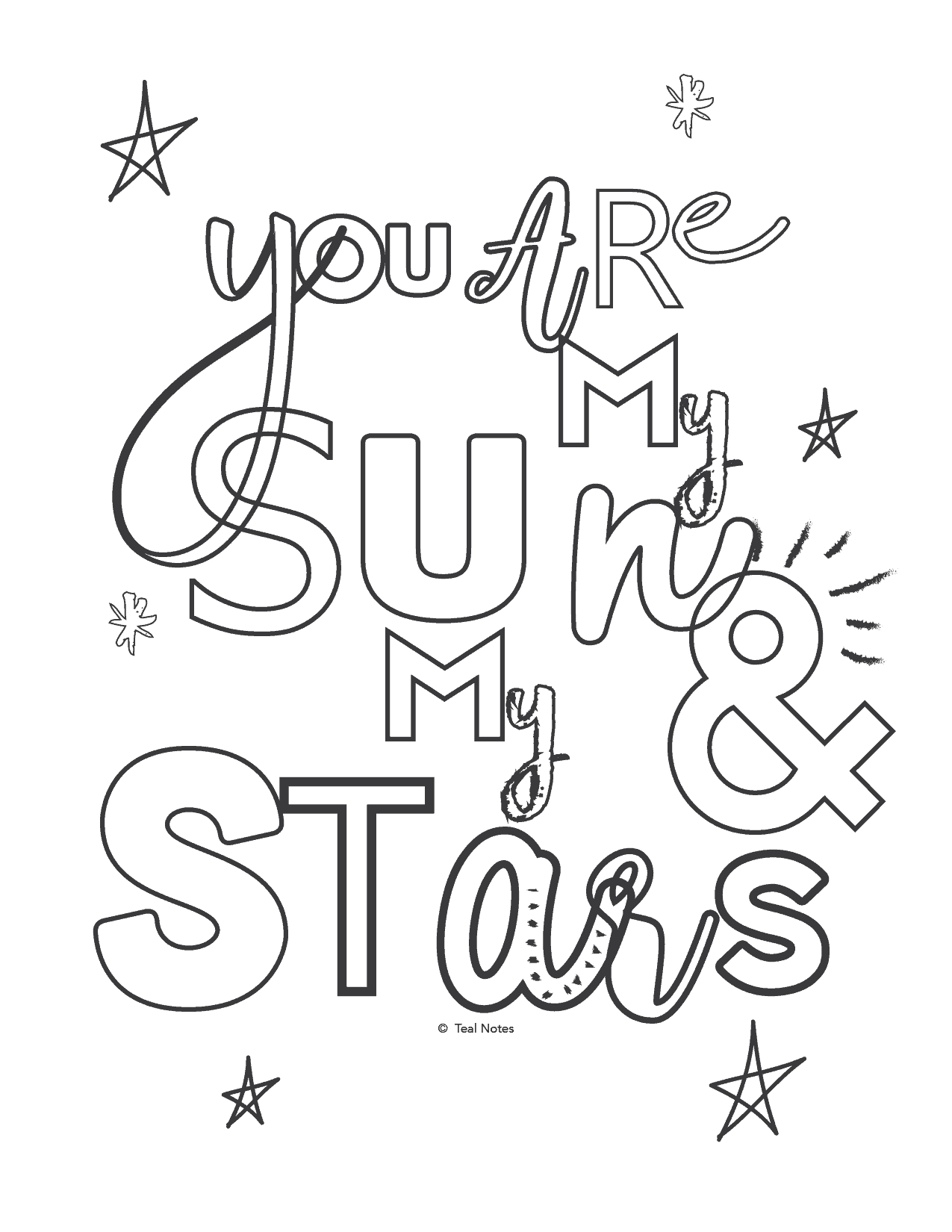 5 Quote Coloring Pages You Can Print And Color On Your ...