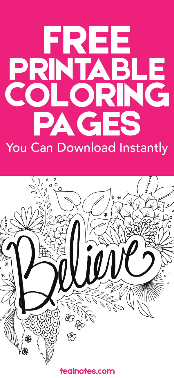 - 5 Quote Coloring Pages You Can Print And Color On Your Free Time