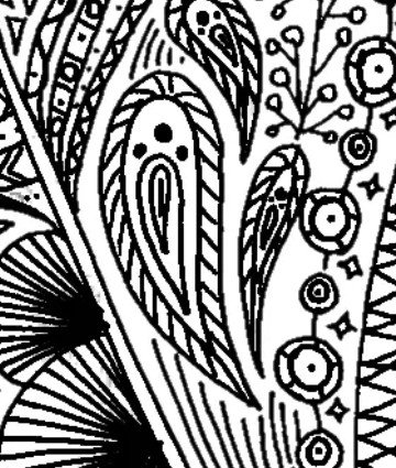 free feather coloring page for adults and children for coloring fun