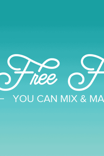 free script fonts for personal and commercial use