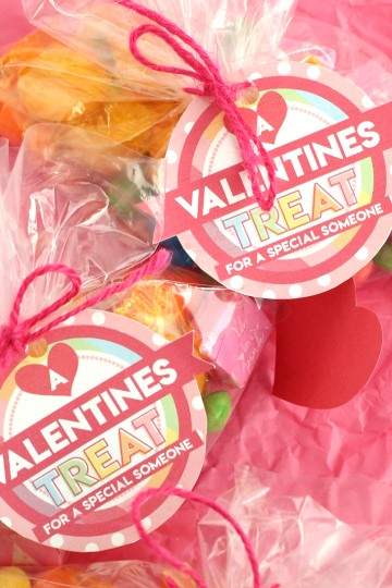 valentines goody bag
