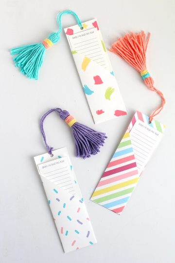 diy bookmark with free template