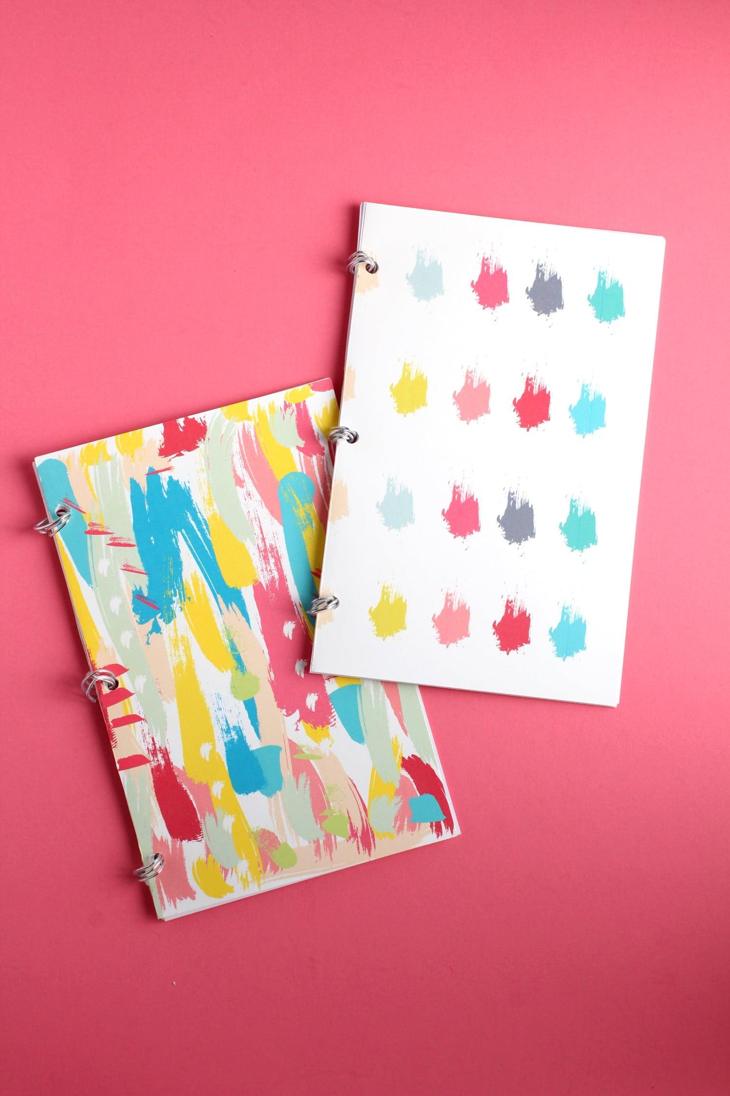 DIY Notebooks with bullet journal paper | DIY Bullet Journals