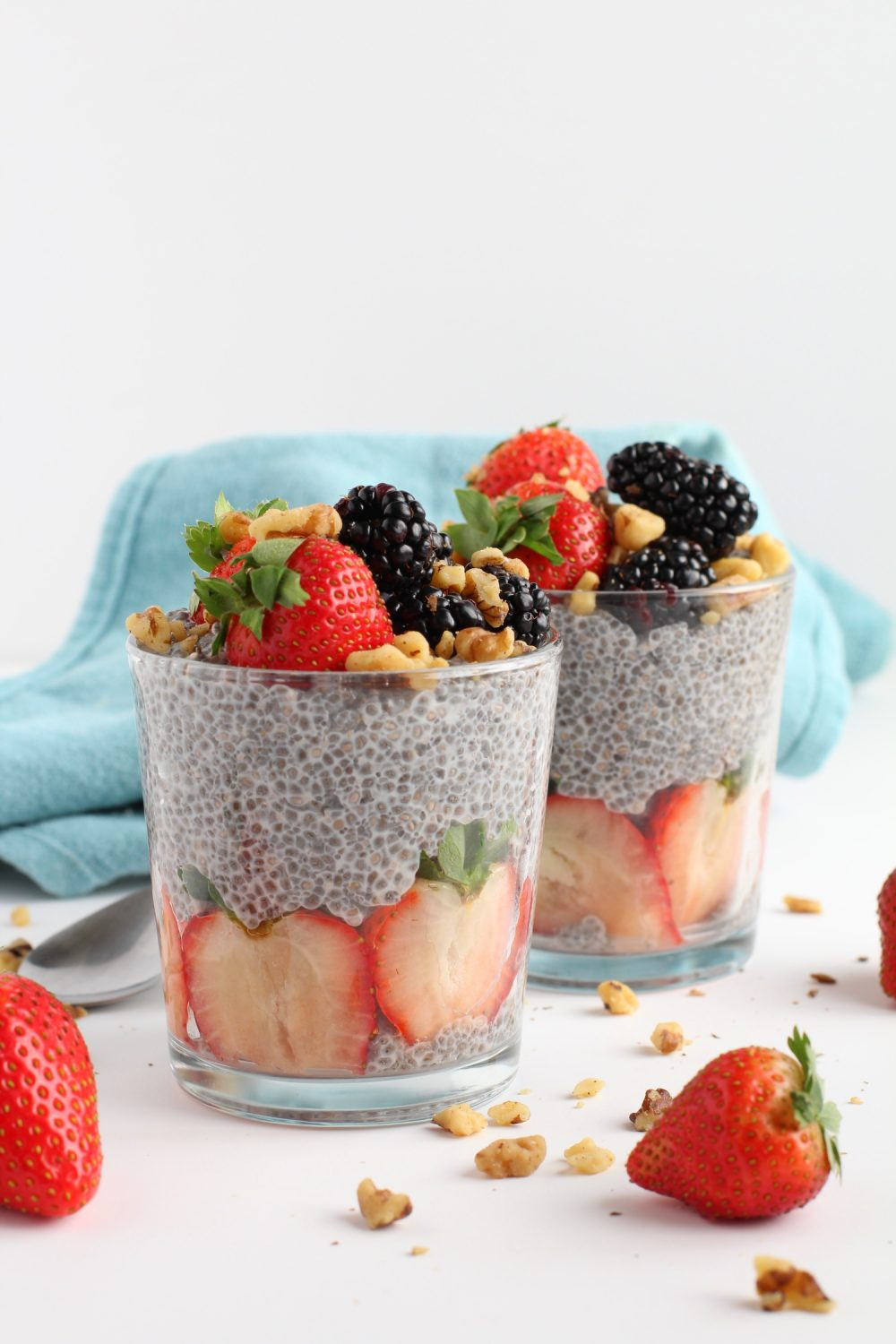 chia pudding meal prep