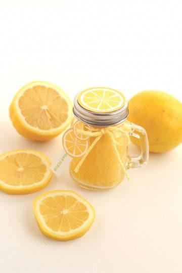 diy lemon sugar scrub you can make at home