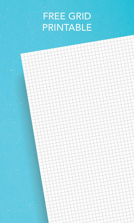 free grid printable paper