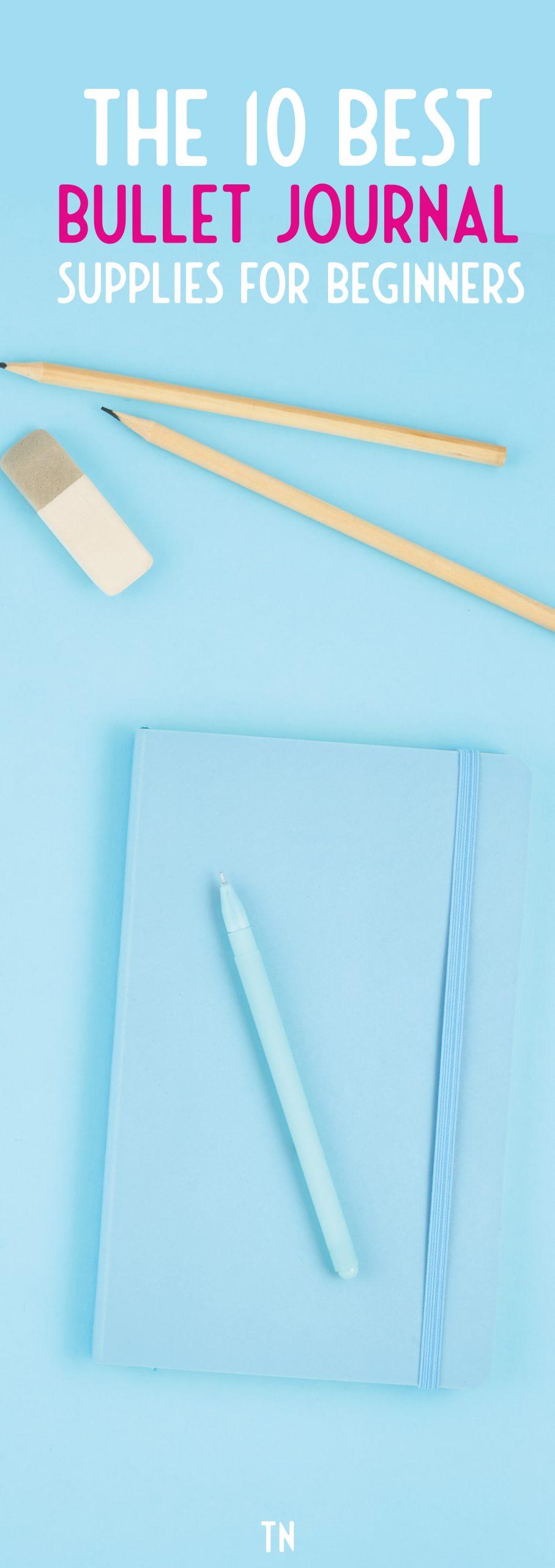 best bullet journal supplies for beginners