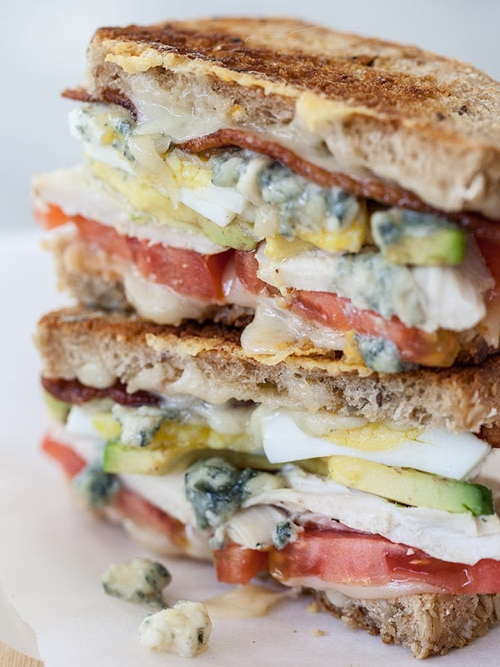 adult cobb grilled cheese