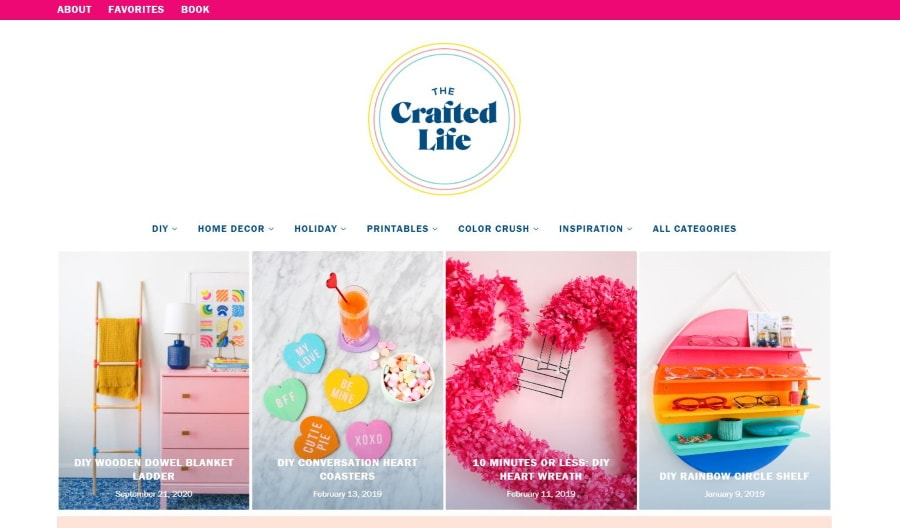women's lifestyle blog 2021 The Crafted Life
