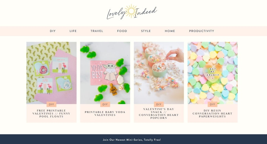 lovely Indeed - top women's blogs