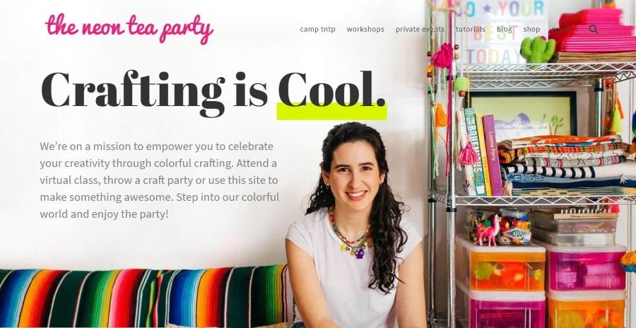 The Neon Tea Party